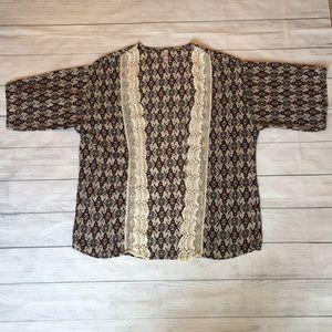 Lightweight Lace Kimono